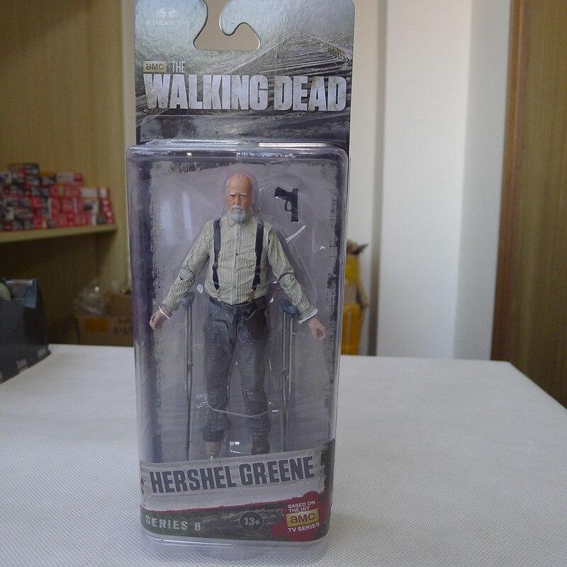 CC02--McFarlane Toys AMC Walking Dead 5 Action Figure Hershel Greene New мегафон amc se116 продам киев