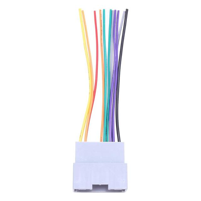 Car Radio Stereo Female Wiring Harness Cable Plug DVD/CD Cable for on