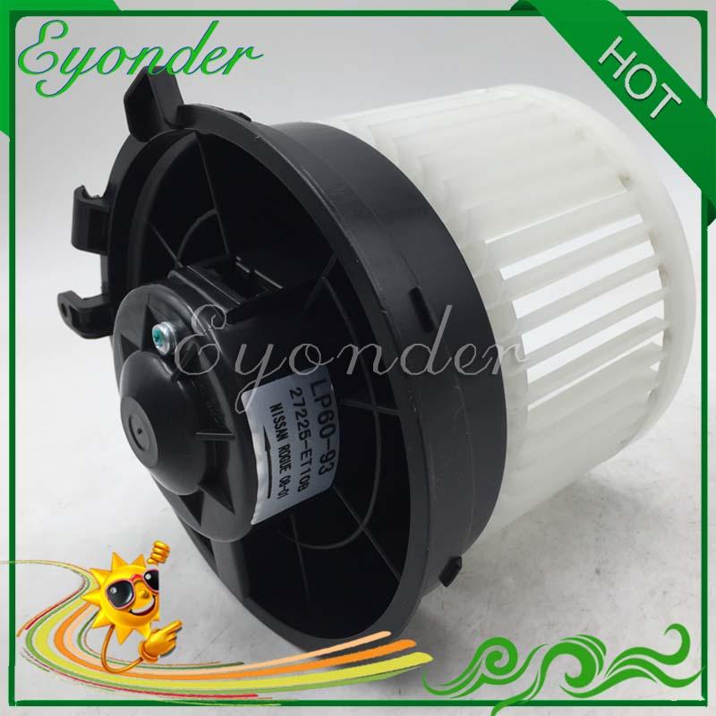 LHD AC A/C Air Conditioning Heater Heating Fan Blower Motor for NISSAN QASHQAI J10 JJ10 1.5 dCi 1.6 2.0 27225-EN000 27225-ET00A цена