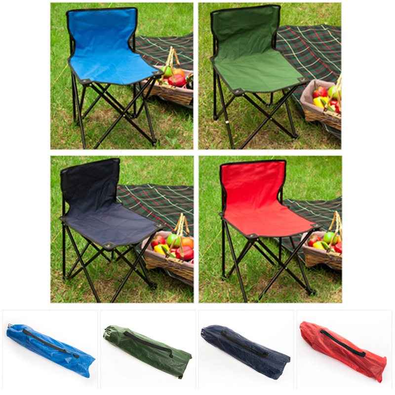 Image 3 - VILEAD Folding Camping Chair One piece design Portable Fishing Picnic Beach Outdoor Garden Seat High Load Ultralight 32*32*34 cm-in Camping Chair from Sports & Entertainment
