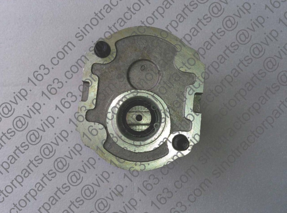 ФОТО Gear pump CBN-E314L (left rotary, with no flange, with end oil outlet, flat connection) of Dongfeng tractor
