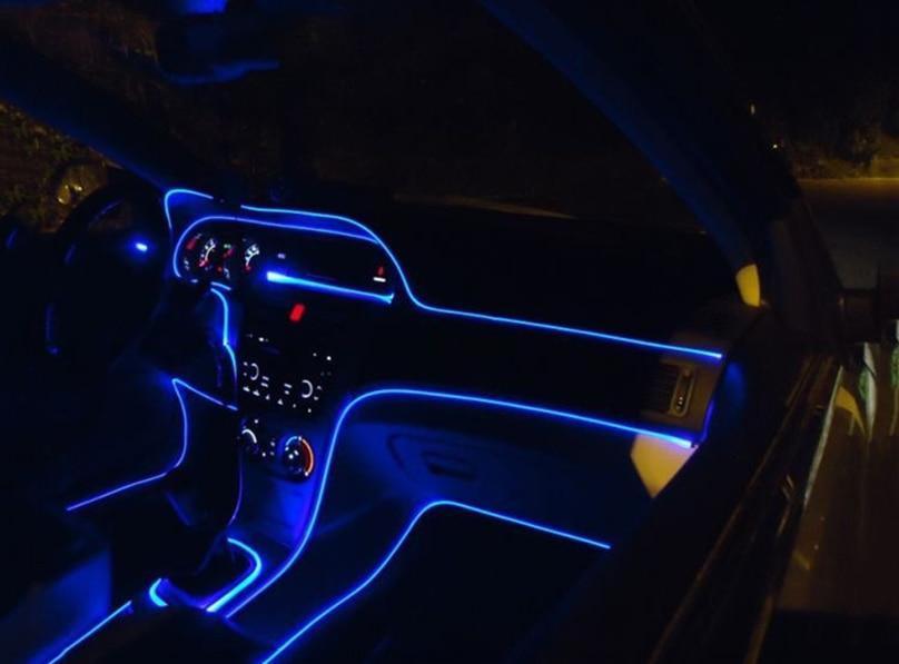 4meter Car Styling Car Interior Ambient Light Panel Illumination Car