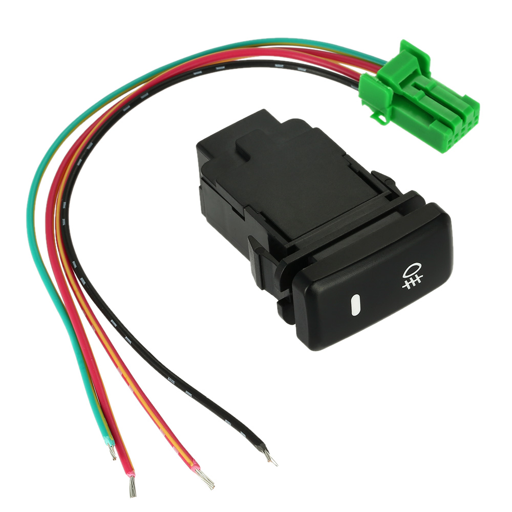 Auto Car Switch On-off Push Switch with Working Light Bar Indicator Driving Fog Lamps Switch Parts for Toyota VIGO