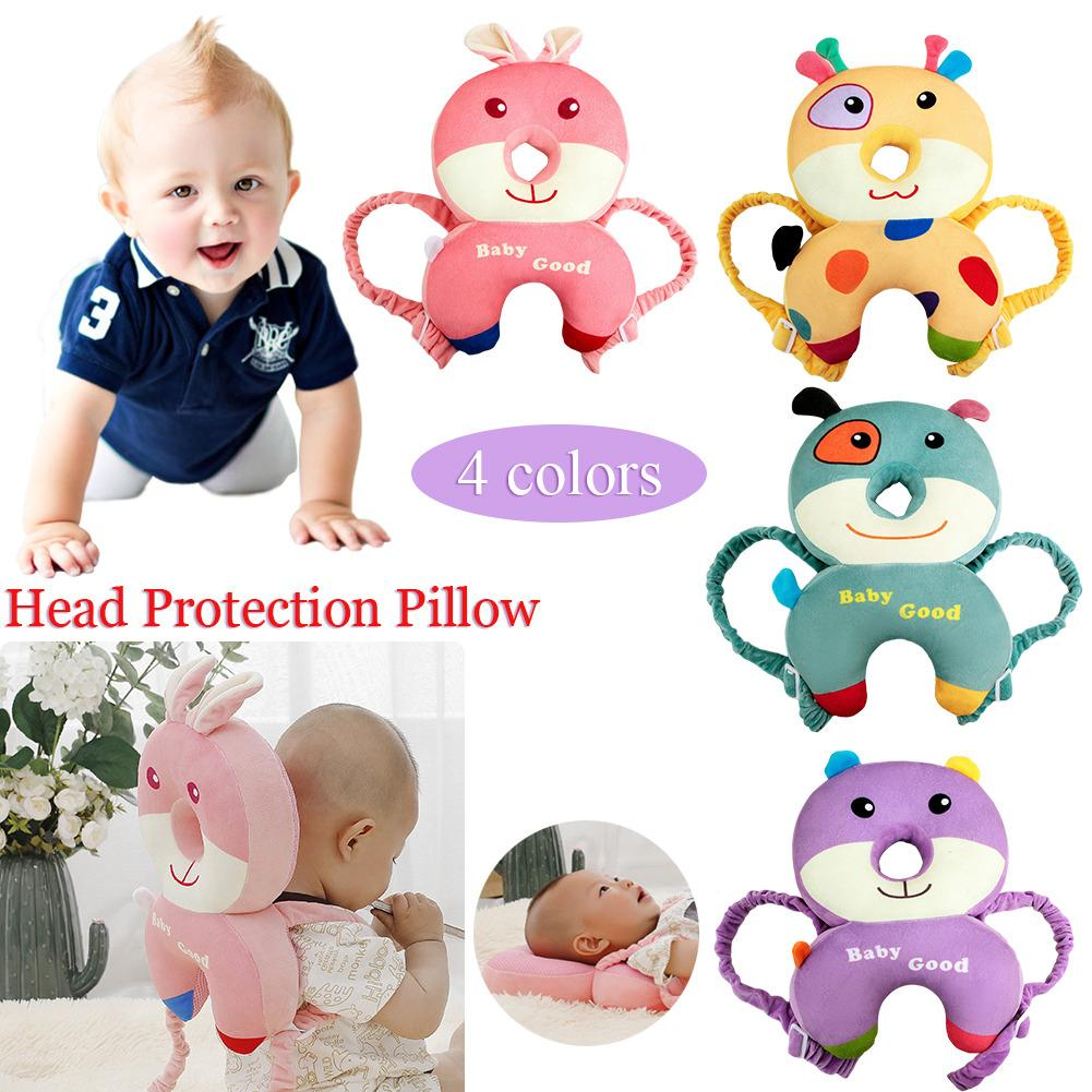 Baby Toddler Headrest Pillow Infant Walking Head Back Protector Safety Pad Z