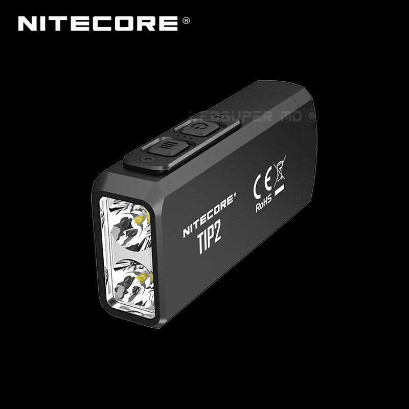 New Arrival NITECORE TIP2 720 Lumens Dual-Core Magnetic Keychain Light With Ultimate Double Power Upgrade