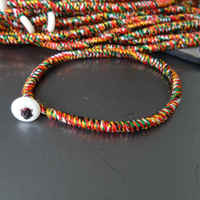 BB 231 Tibetan Handmade Kingkong Knots Amulet Bracelet Colorfol Silk Cotton Thread Best Offer