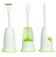 1PC 7 Color Creative TPR Multi Directions Toilet Brush Washing Room Groove Cleaner Brush Home Clean