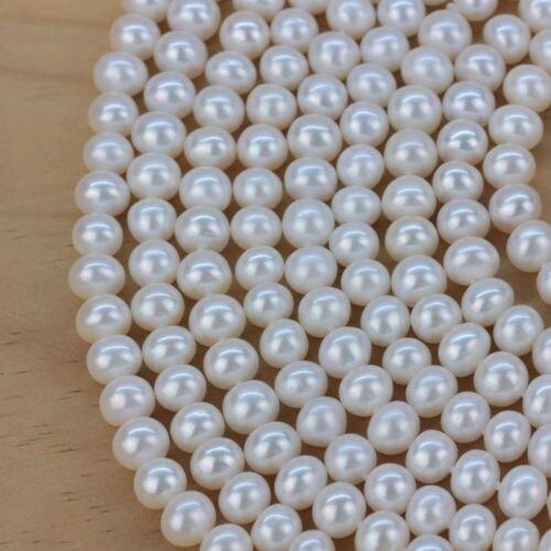 Noblesse bijoux choker huij réel 6-7 MM blanc perle perles pendentif collier long 200 CM femmes cadeau argent-bijoux