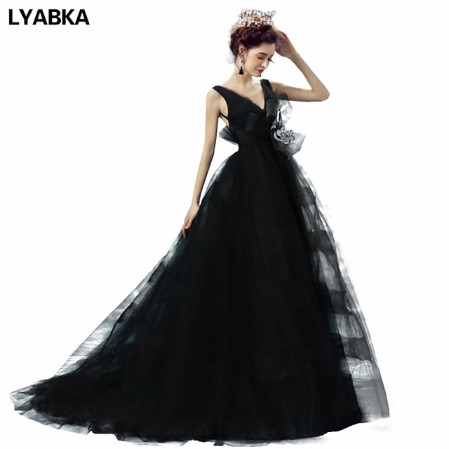 Hot Sale Prom Dresss Unique Backless Black Prom Dresses 2017 New ...
