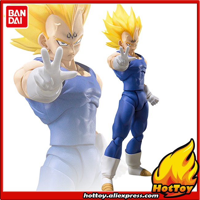 100% Original BANDAI Tamashii Nations S.H.Figuarts SHF Exclusive Action Figure - Majin Vegeta from