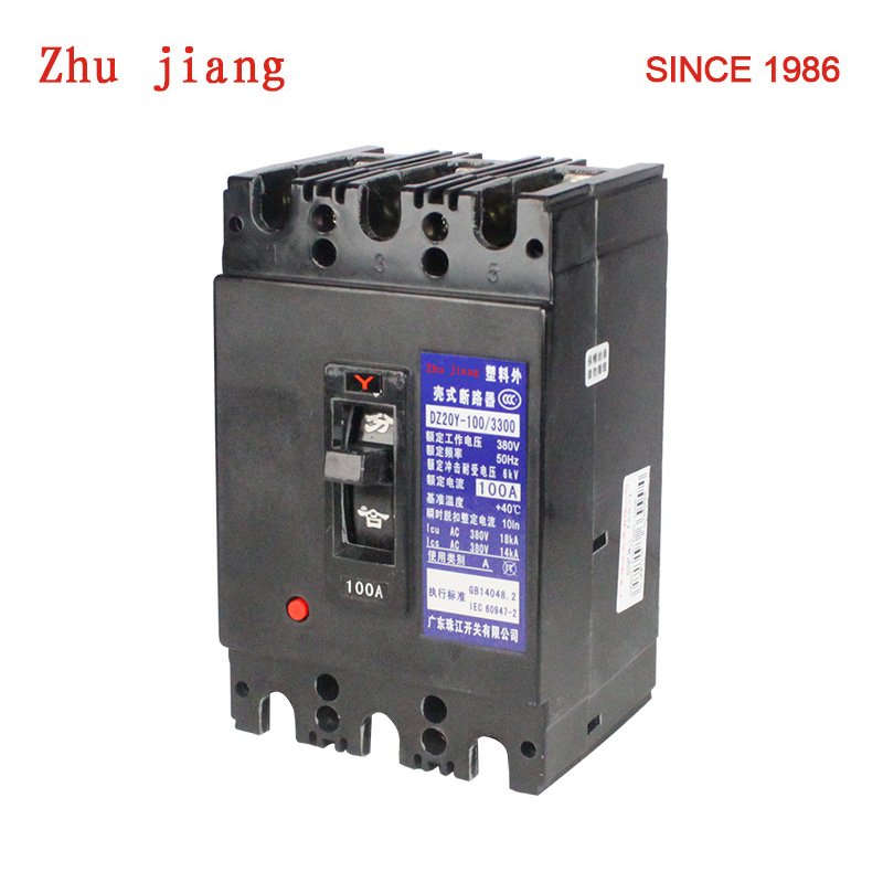 3 P 80A 100A électrique disjoncteur
