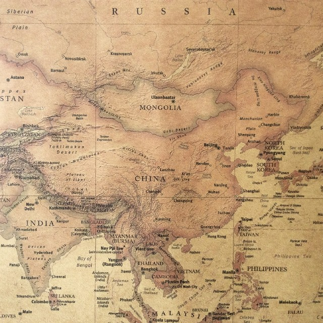 Online shop choose size the old world map huge large vintage style choose size the old world map huge large vintage style retro paper poster home wall decoration gumiabroncs Images