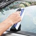 Andanada de no rígida placa limpiadora de lavado de automóviles de ultra suave de limpieza de vidrio herramientas de cine coche rascador