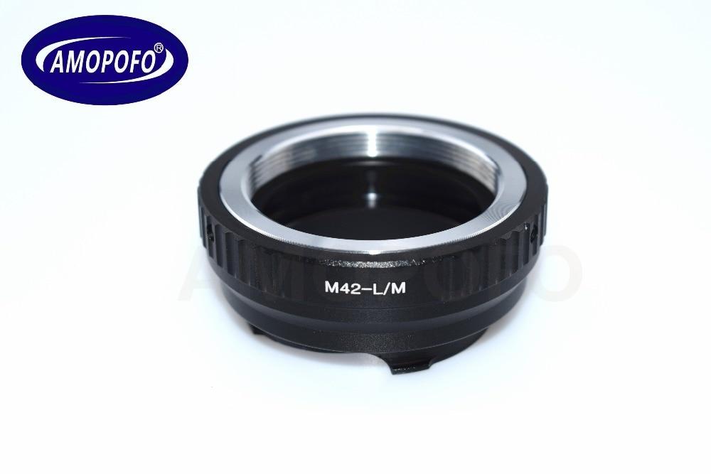 TECHART LM-EA 7 üçün M42 vintli lens üçün Leica M L / M M9 M8 - Kamera və foto - Fotoqrafiya 3