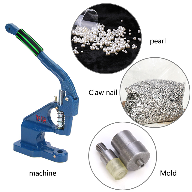 1000pcs DIY Clothing Accessories Pearl Cap Tubular Leather Rivets Craft Repair Pearl Knitting Lace Hat Hair Accessoiries Rivets