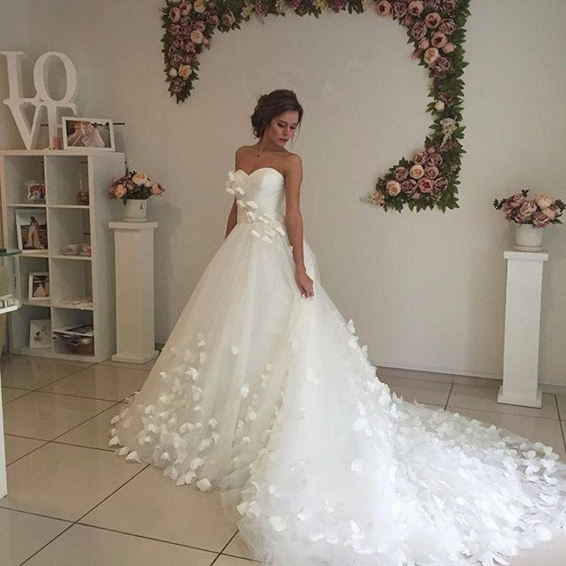 Sweetheart China Country Western Bridal Bride Dresses 2017