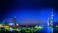 24X43นิ้ว/Burj Al Arabดูไบธรรมชาติภูมิทัศน์โปส