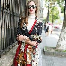 2019 New Winter Women Scarf Luxury Brand 100% Pure Wool Large Size Bandana Cape Hijab Blanket Shawls and Wraps Cashmere Pashmina