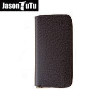 Hot Men Wallets Clutch Wallet 2016 High Quality PVC Business Money Clips Dollars Purse Card Package