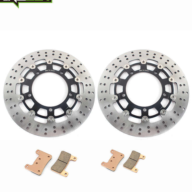 BIKINGBOY для SUZUKI GSX 1300 R Hayabusa 2008 2009 2010 2011 2012 K8-L2 волнистые/Круглый Передние тормозные диски роторы наборы стартового стола
