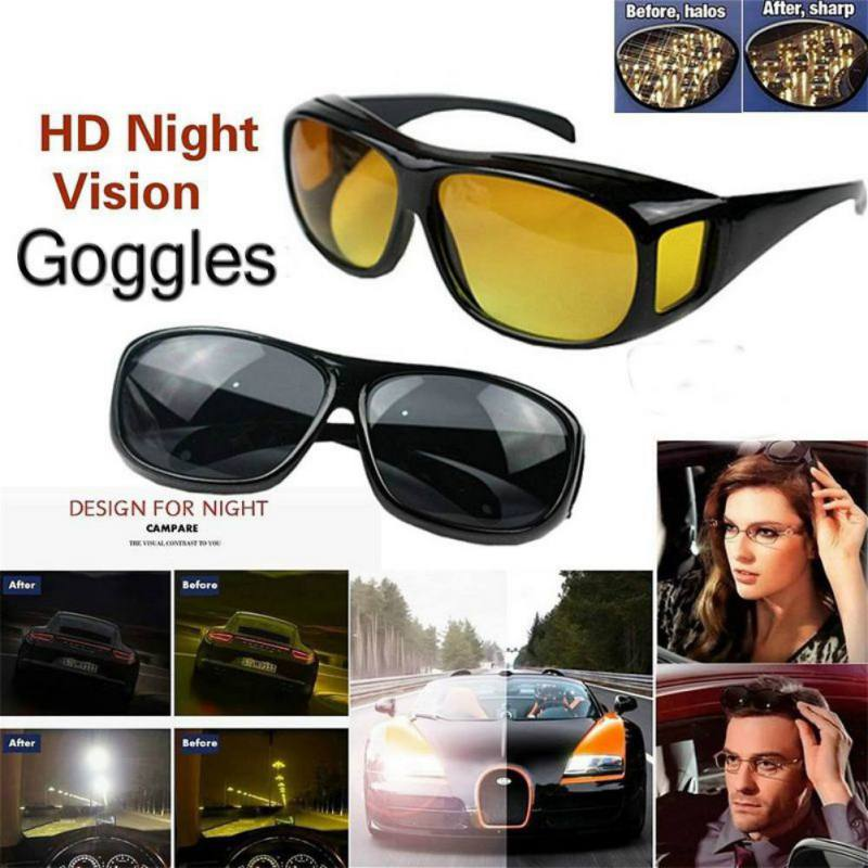 Fashion Modelling Night View Sunglasses Motorcycle Glasses Night Vision Mirror Protect Your Eyes Anti-Sand Fit For Men And Women