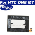 Original Battery For HTC ONE M7 Dual Sim 802t 802D 802W 801e 801s 801n 35H00207-01M BN07100 Li-Polymer battery 1 Year Warranty