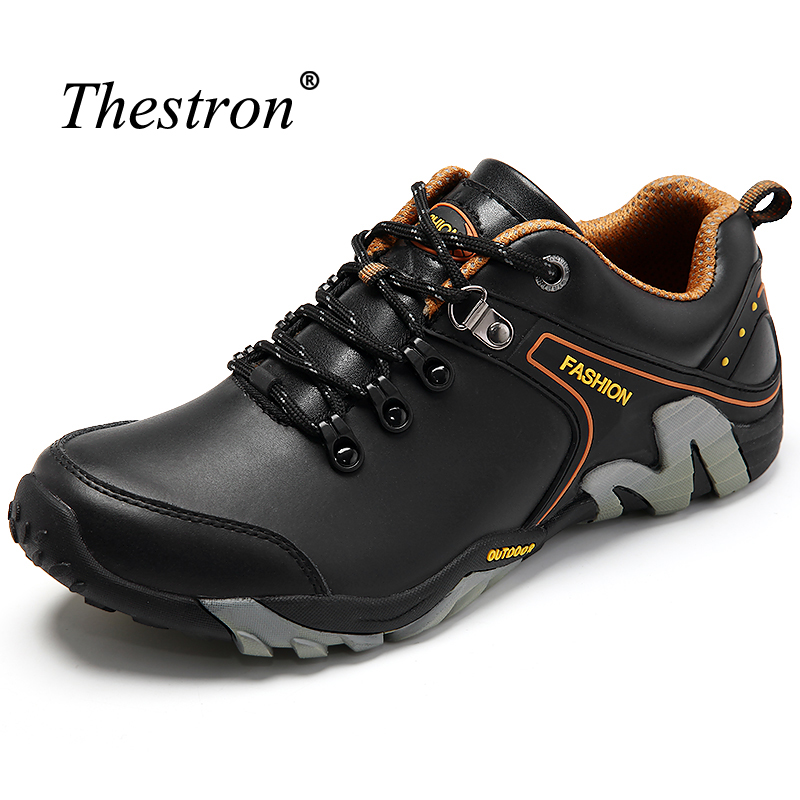 Thestron Trekking Shoes Men High Quality Mens Walking Shoes Outdoor Winter Camp Shoes For Man Brown Leather Men Sport TrainersThestron Trekking Shoes Men High Quality Mens Walking Shoes Outdoor Winter Camp Shoes For Man Brown Leather Men Sport Trainers