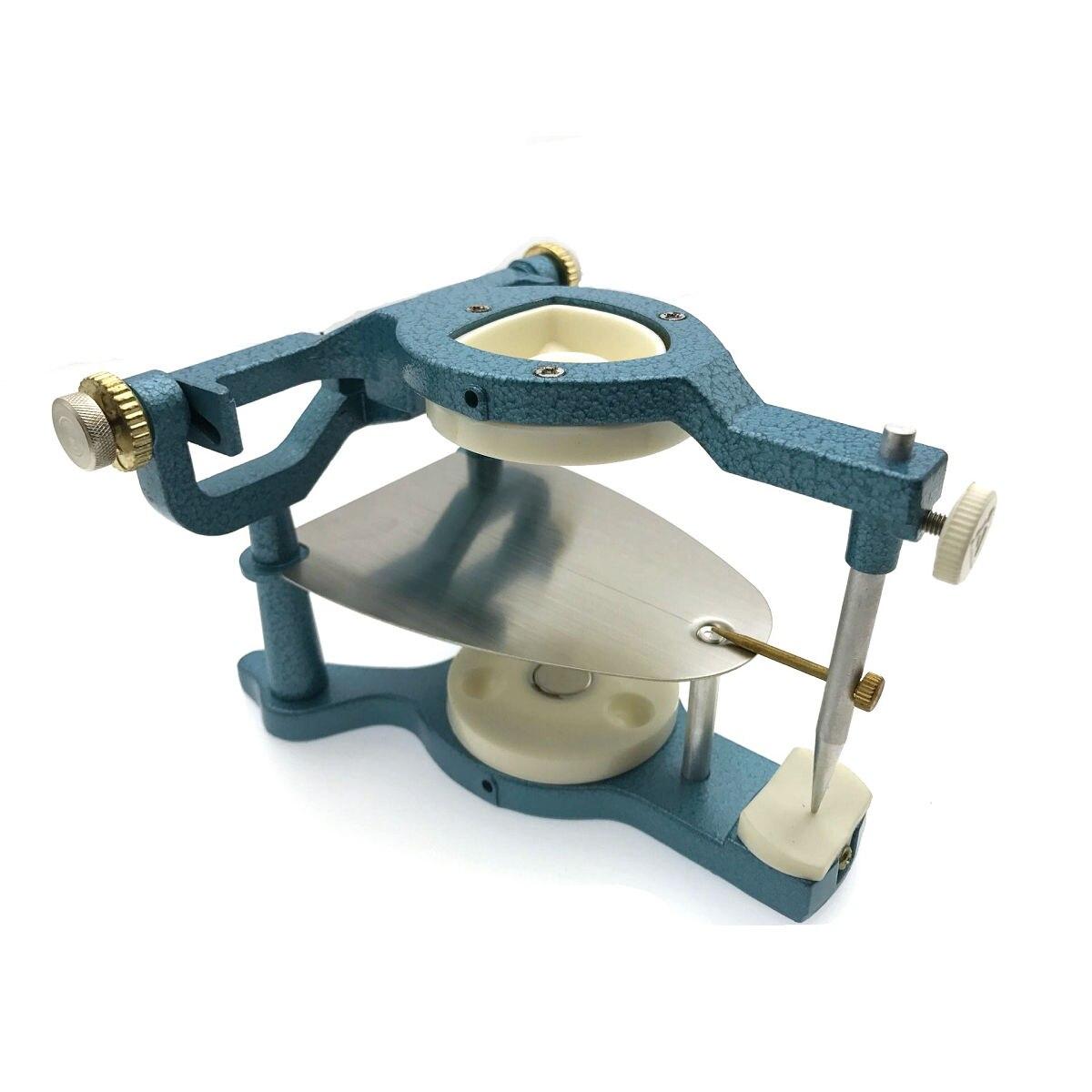 High Quality Dental Laboratory Equipment Big Size Silvery Alloy Articulators Adjustable Denture Magnetic Anatomic Articulator