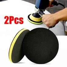 2 Pcs 6 inch Magic Clay Pad Bar Mitt Car Care Wash Cleaning Polishing Sponge Wax Applicator Car Paint Repair Auto Skin