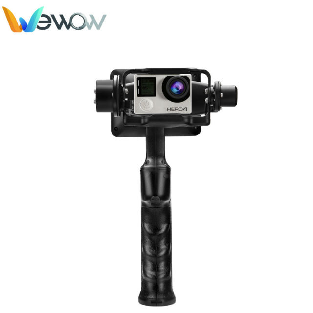 WenPod steady Wenpod GP1 2 Axis stable handheld Gimbal for Gopro 3 4 video shooting professional stablizer