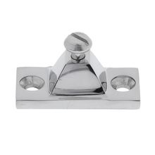 Heavy Duty Stainless Steel Side Mount Deck Hinge 2 x 7/8 - Canopy/Boat/Bimini Top
