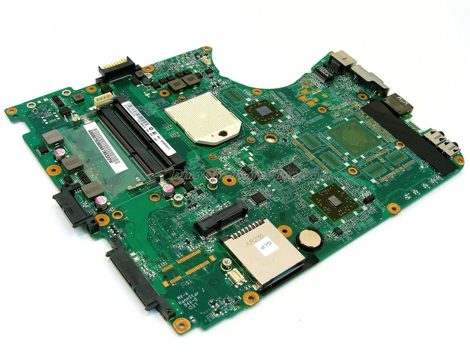 SHELI laptop Motherboard For Toshiba L655D A000076380 DA0BL7MB6D0 DDR3 integrated graphics card 100% fully tested