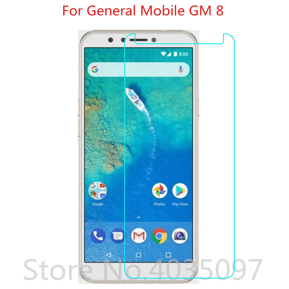For General Mobile GM8 Tempered Glass Protective Glass Film Explosion-proof For General Mobile GM 8 Screen Protector(China)