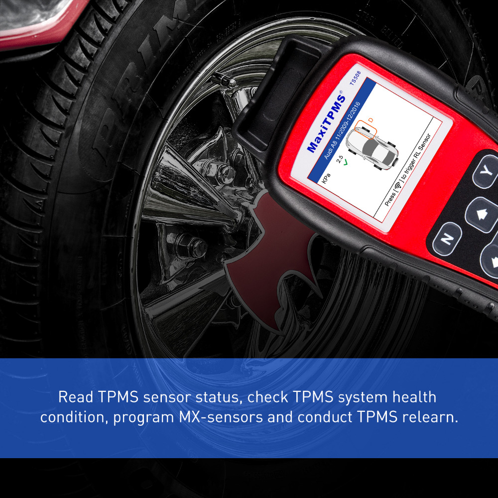 Check Tpms System >> Autel Ts508k Tpms Diagnostic Tool Tpms Sensor Check Tpms System Health Condition Program Mx Sensors And Conduct Tpms Relearn