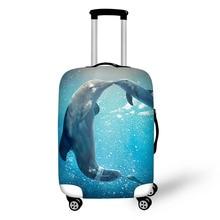 Beschermhoes Dikke elastische bagage Beschermende hoezen Rits Geschikt voor 18-30 inch koffer met koffer Reistassen hoes voor koffer