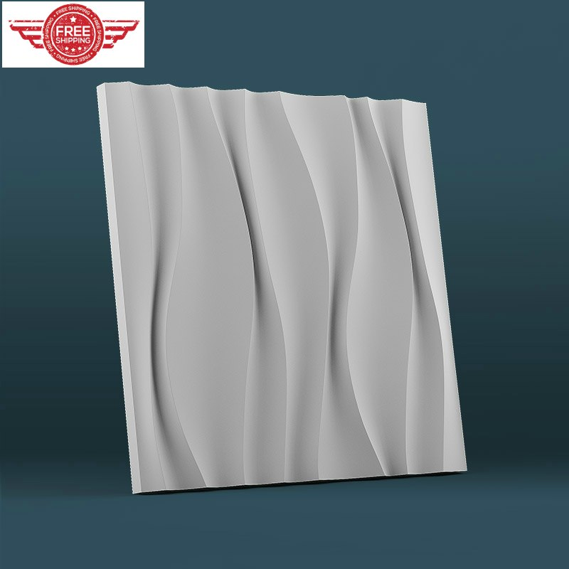 Plaster concrete abs plastic round tassel decor mold