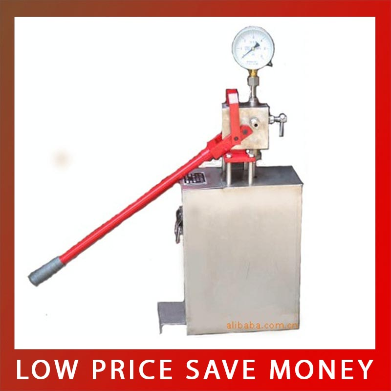 Good Quality Manual Stainless Steel Hand Test Pump 4mpa-40mpa Water Pressure Test Pipe Leak Hunting ativ by vita сумка на руку