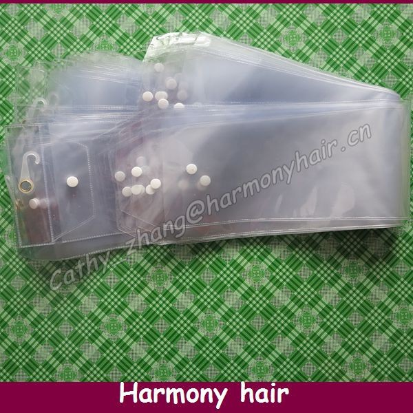 """FREE SHIPPING! PVC Packaging For Weave Hair Packaging Bags (30 pieces/lot 5.25"""" width) durable best quality"""