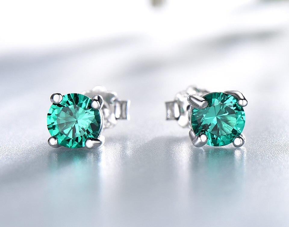 Honyy-Emerald-925-sterling-silver-stud-earrings-for-women-EUJ002E-1-PC_02