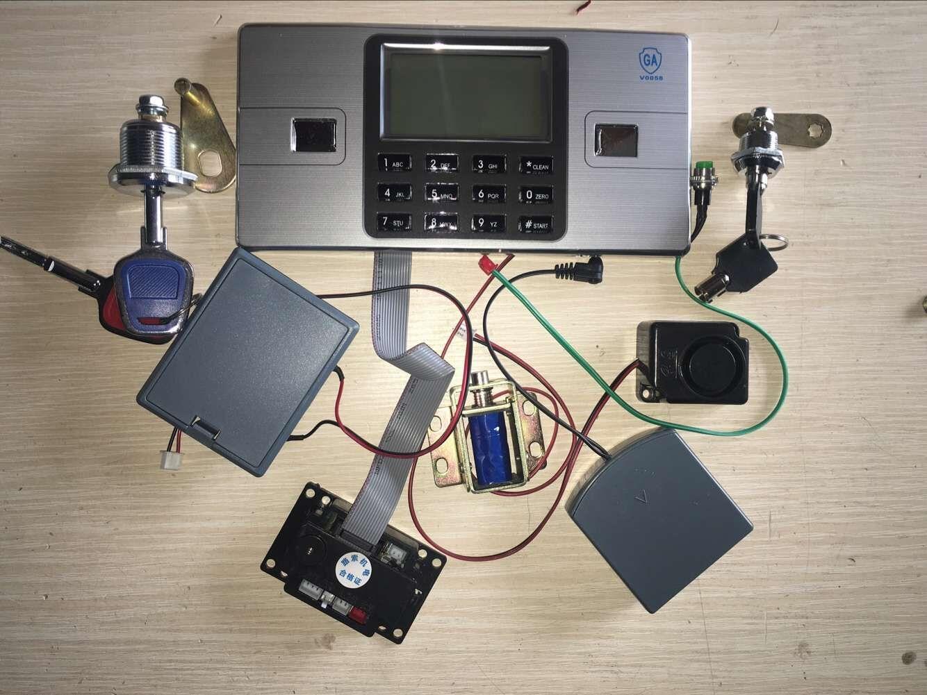 Small Electronic Lock Password Safe Box Fingerprint Pistol