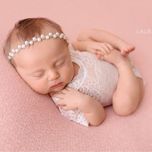 Newborn Baby Lace Rompers Toddler Photography Prop Clothes G