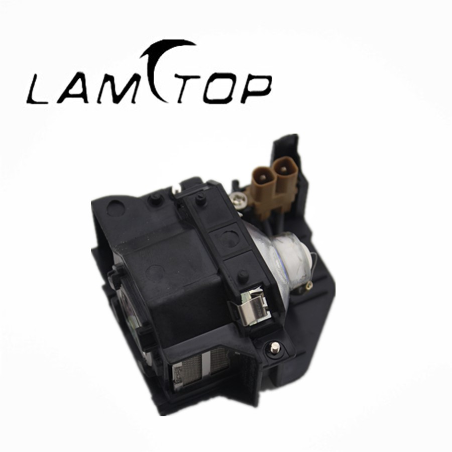 FREE SHIPPING  LAMTOP  180 days warranty  projector lamps with housing  ELPLP33/V13H010L33 for  EMP-TWD3 lamtop bare projector lamps projector bulb elplp28 v13h010l28 fit for emp tw500 free shipping