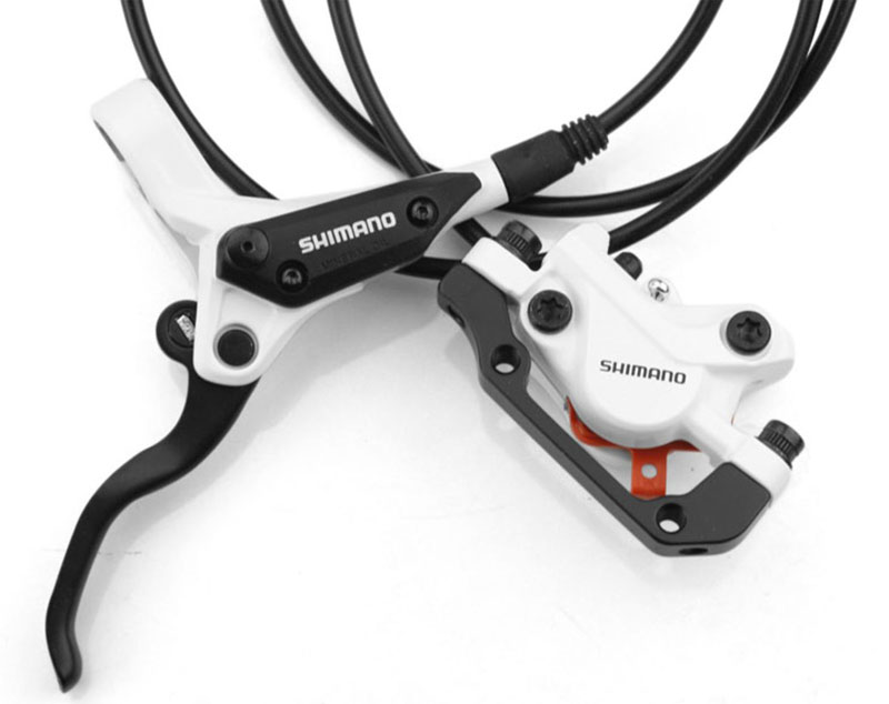 SHIMANO ALIVIO M395 vtt vélo hydraulique frein à disque Set pince montagne pour frein vélo frein à disque XT & frein feuille vis - 6