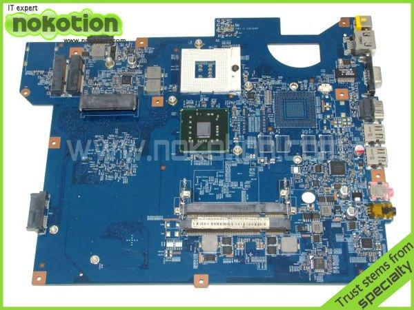 NOKOTION LAPTOP MOTHERBOARD FOR Gateway PACKARD BELL TJ65 series 48.4BU01.01N 554BU01031G warranty 60 days комплектующие и запчасти для ноутбуков packard bell gateway p5ws5 p5ws0 p5wso tmp 255