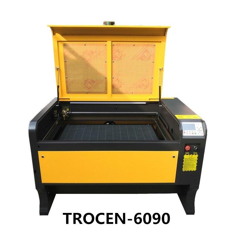100W 6090 Laser gravure Machine 600*900mm CO2 découpeuse 220 V/110 V bricolage marquage Machine livraison gratuite