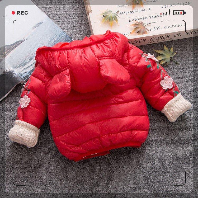 9358f76f0 Chaqueta acolchada de algodón suave para niña ~ Super Deal June 2019