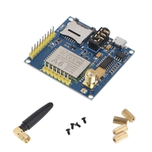 New 2019 A6 GPRS Pro Serial GPRS GSM Module Core DIY Developemnt Board Replace SIM900 Hot Sale 2015 sim900 gprs module development board industrial grade band gsm mms positioning dtmf for ar duino sim900 mini module
