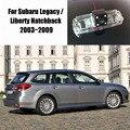 Cámara de Visión Trasera Para Subaru Legacy Thehotcakes/Liberty Hatchback 2003 ~ 2009/Back Cámara de Aparcamiento/Licencia Luz de la placa