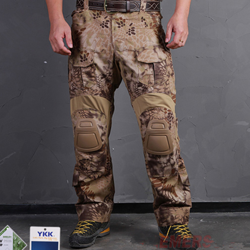 HLD EMERSONGEAR G3  Version men Camouflage Hunting Pants Tactical Airsoft Combat Emerson Trousers