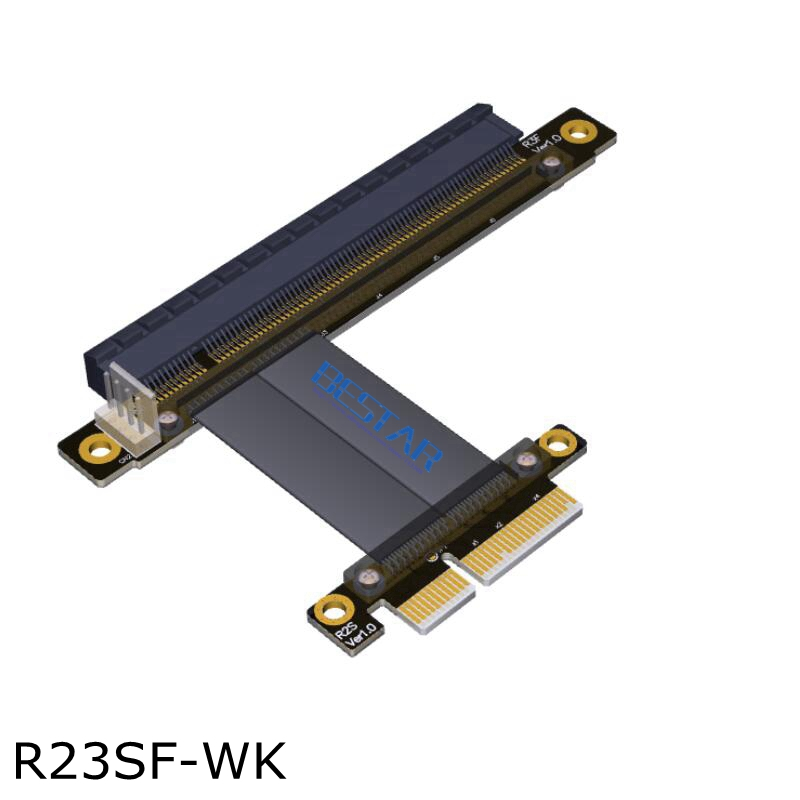 BTM New Mining Riser Card Extension Cable PCIe 3.0 x16 to x4 For AMD NVIDIA Video Adapter Card With SATA Power Cable Non-usb for 3g 4g module usim card slot extension adapter card mini pcie include sim card slot extension module extension riser card